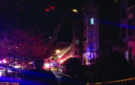 Fire blazes through Fenway