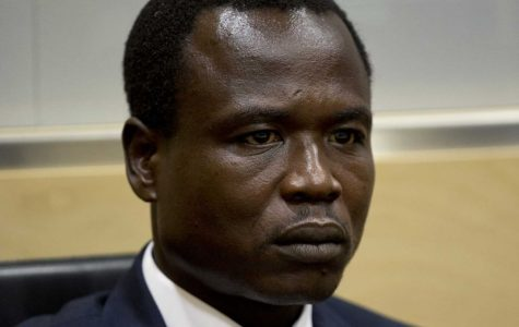 Dominic Ongwen appears at the ICC for charges of war crimes