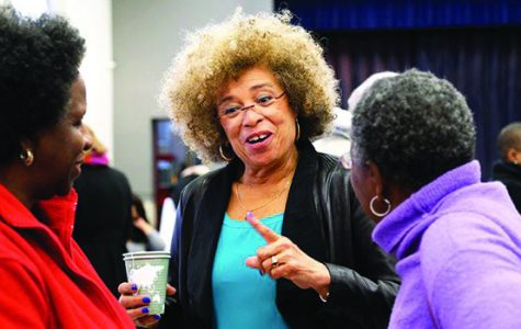 Angela Davis delivers Black History Month speech