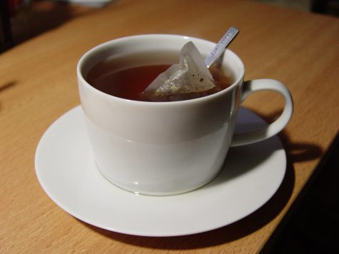 photo of a teacup