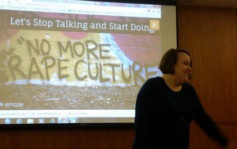 'Dismantling Rape Culture' workshop kickstarts V-logs action month