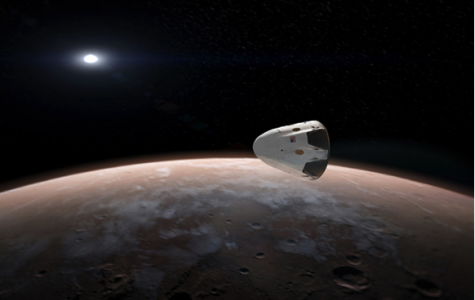 Unmanned spacecraft to land on Mars