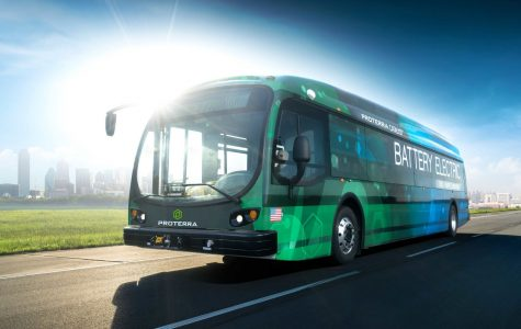 New electric bus can go 350 miles on one charge