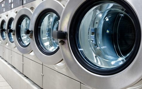 Proper laundry room etiquette in a crowded dorm