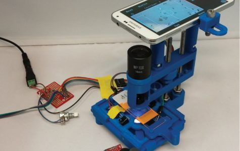 New 3D-printed microscope designed for smartphones