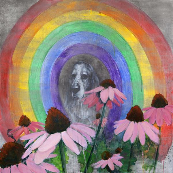 Portrait+with+Coneflowers+and+Rainbow.+Source%3A+Trustman+Art+Gallery+website