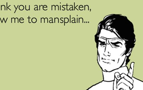 The issue with 'mansplaining' politics