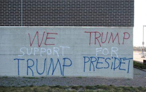 High schooler turns to vandalism to support Trump
