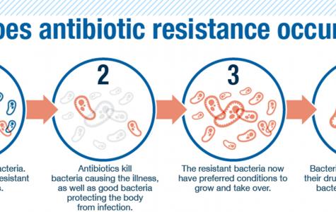 Antibiotic-resistant bacteria threat