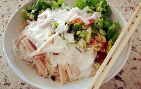 Vietnamese cuisine: Bun Tham Bi Vietnamese Noodle Salad recipe