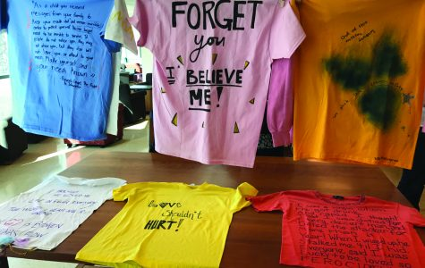 Simmons hosts 20th annual Clothesline Project