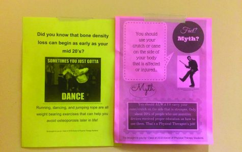 Fliers around Simmons spark debate about ableism