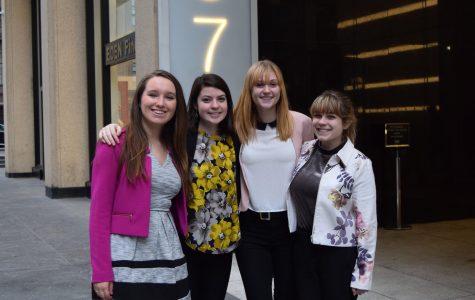 Students gain insight and score jobs through PRSSA's 17th annual Omnicom Trip