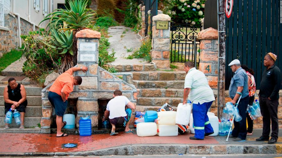 Understanding  South Africa's water shortage as a symptom of  Climate Change