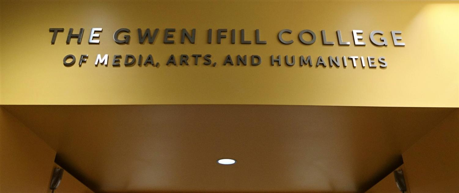 Faculty are busy crafting the mission statement of the Gwen Ifill College. The mission statement is due in December.