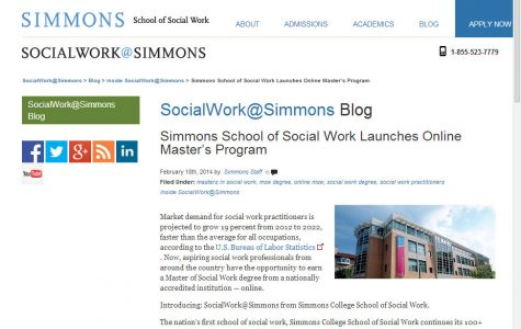 Earn your social work masters online: SocialWork@Simmons launched
