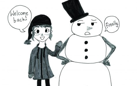 snowman comic
