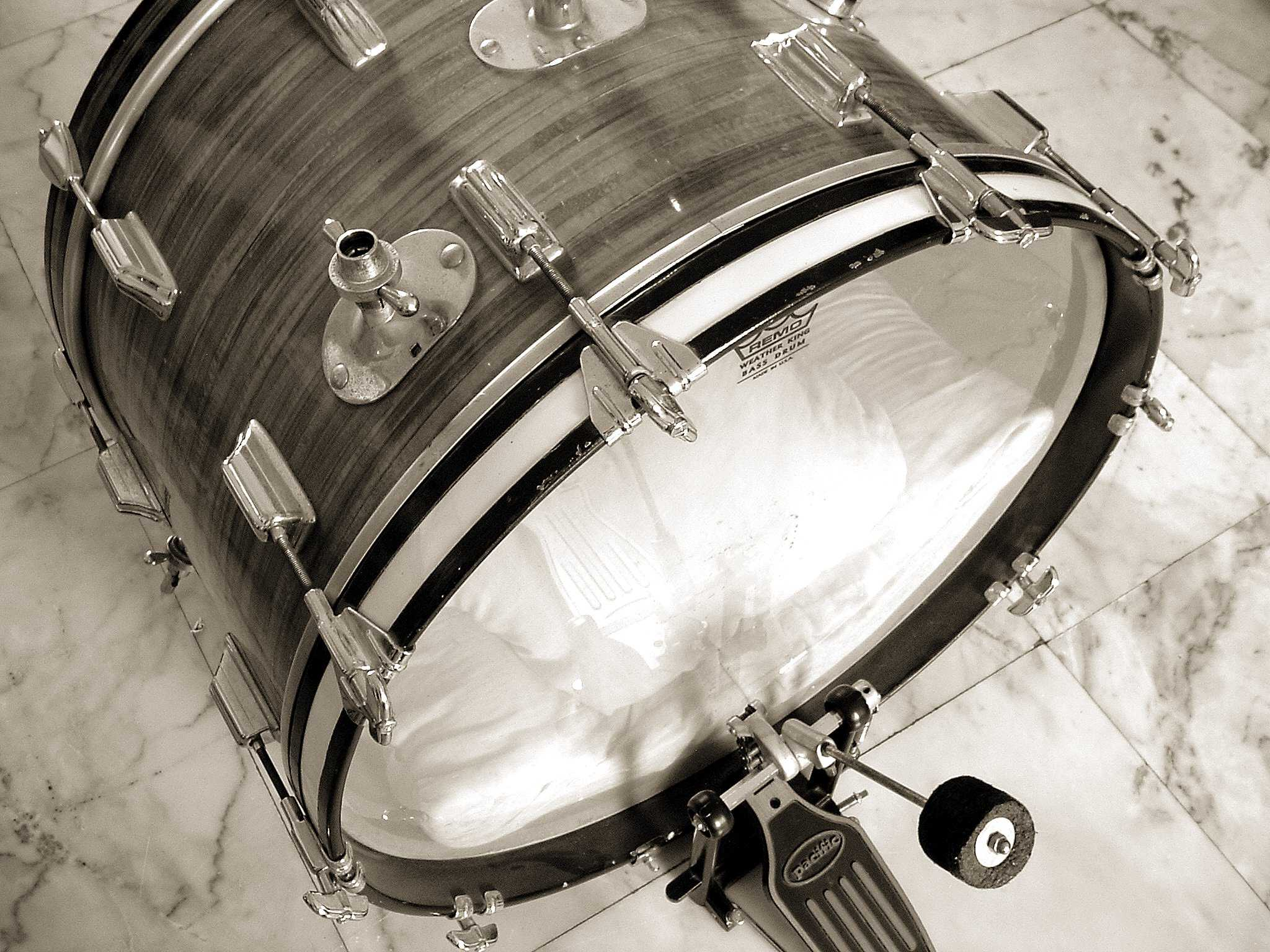 photo of a bass drum