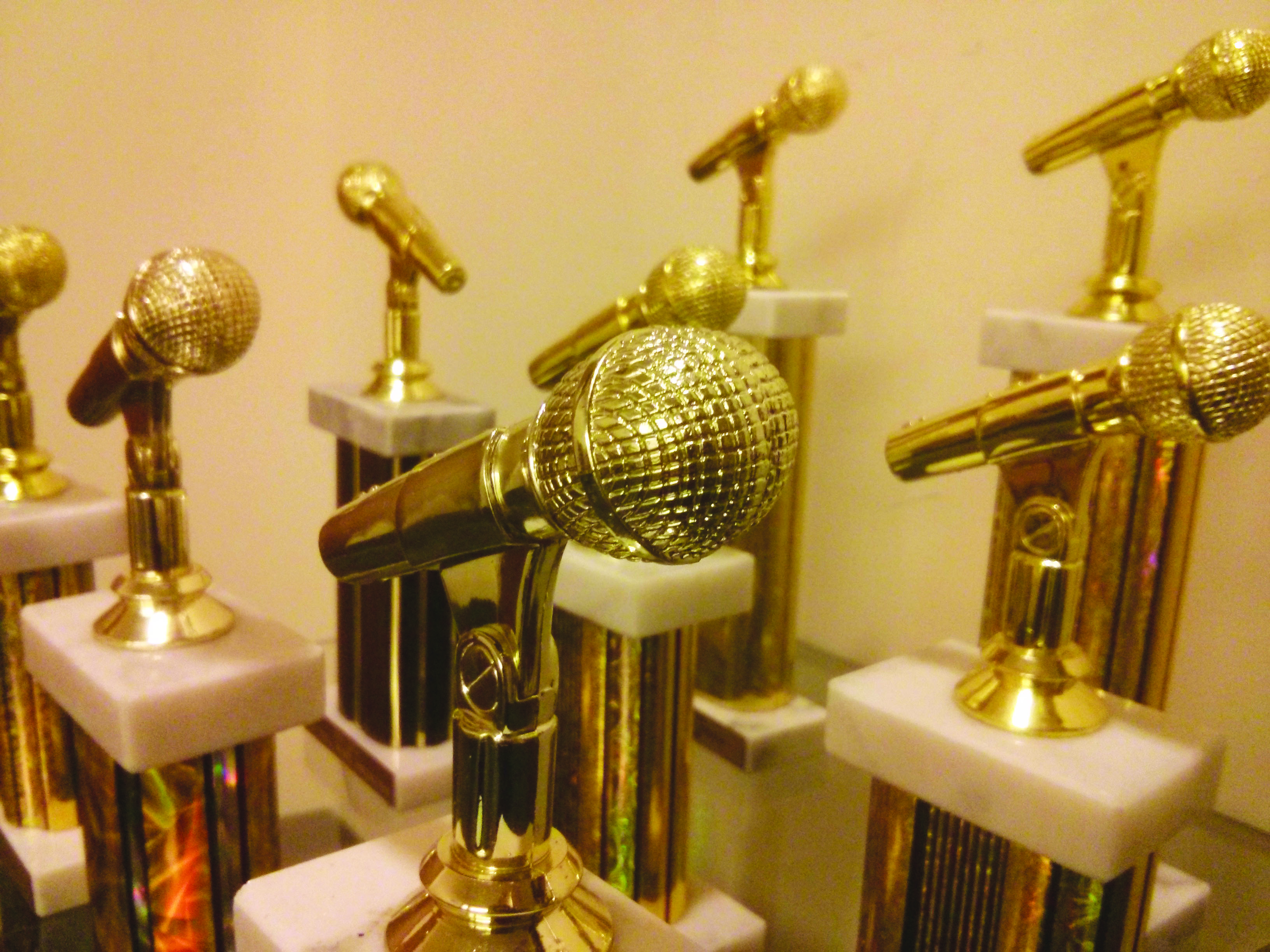 picture of the awards Simmons Radio has won
