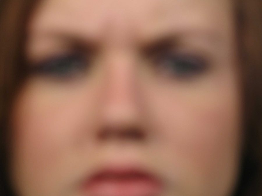 picture of angry woman