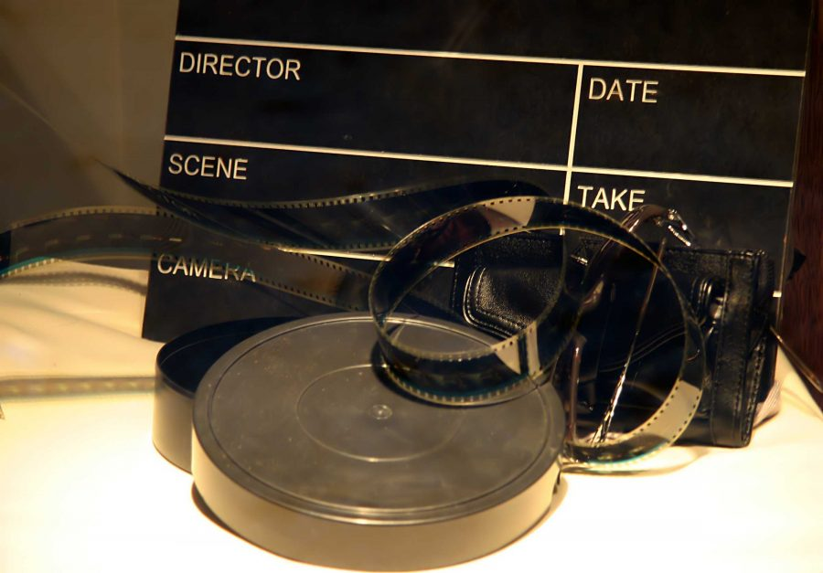 picture of film reel and marker