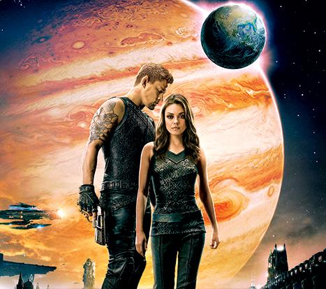 pic of Mila Kunis and Channing Tatum in Jupiter Ascending