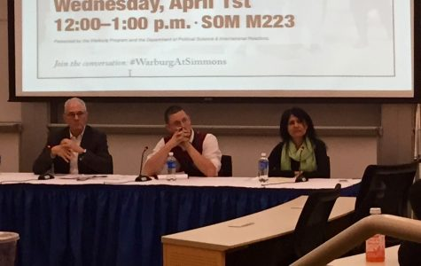 Warburg panel gives ISIS update