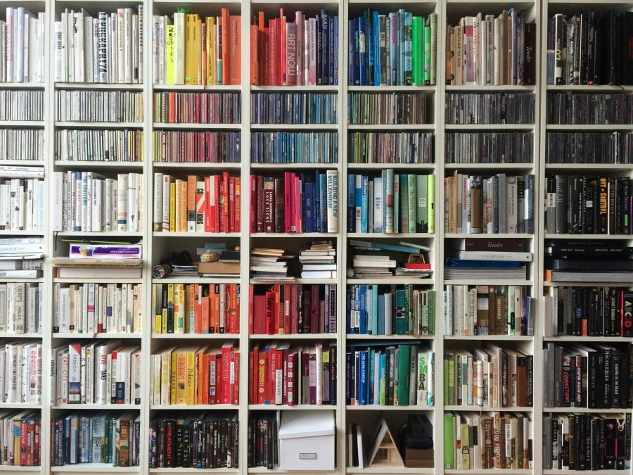 picture of bookshelves