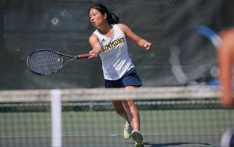 Chen leads tennis on road over Suffolk, 6-3