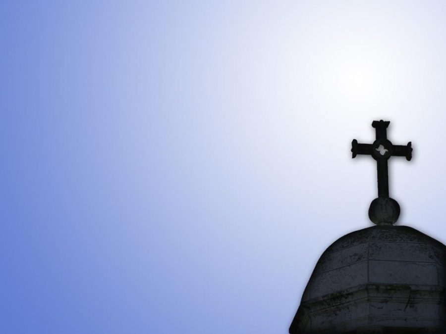 Stock photo of a church steeple