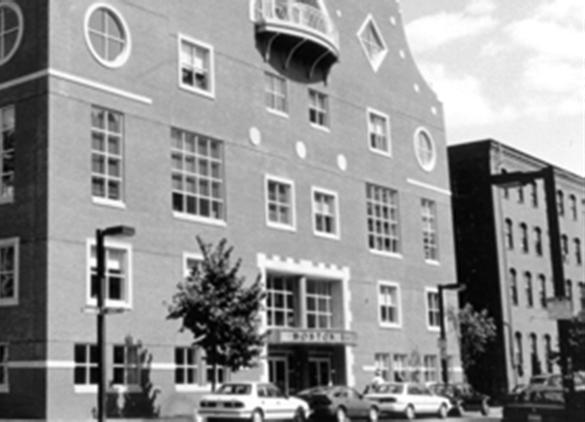 The facade of the Boston Ballet Building