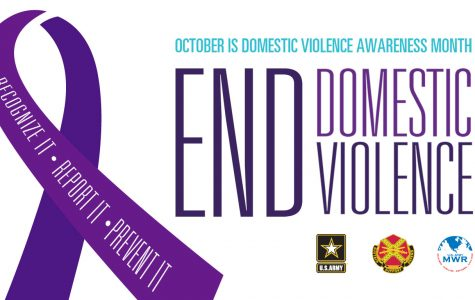 October increases domestic violence awareness