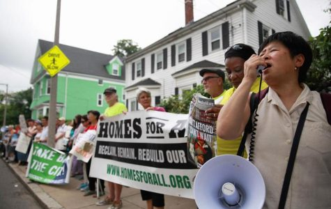 Housing crisis prompts protest in Dorchester