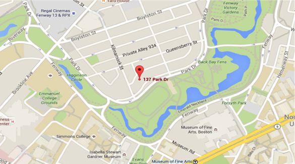 Google Maps image of location where the attack occured