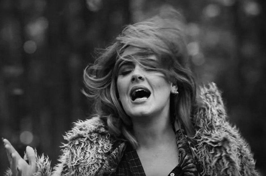 "Adele's new single ""Hello"" instills penetrating emotions. (Photo from Billboard.com)"