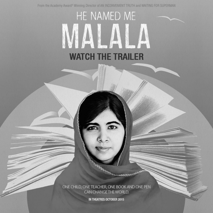 """""""He Named Me Malala"""" documents Malala Yousafzai's activism in promoting girls' education worldwide. (Photo from FoxSearchLight.com)"""
