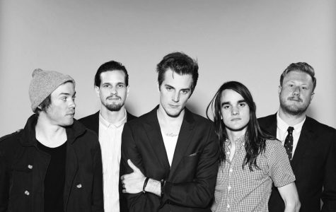 "The Maine performed their newest album, ""American Candy,"" at Simmons College. (Photo from UndertheGunReview.net)"