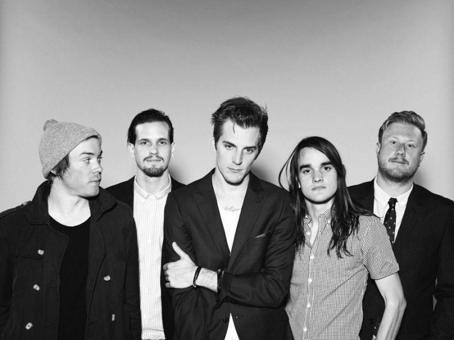"""The Maine performed their newest album, """"American Candy,"""" at Simmons College. (Photo from UndertheGunReview.net)"""