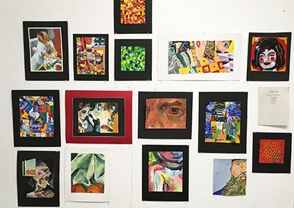 A Thousand Words: Community artists display work in  Trustman Gallery