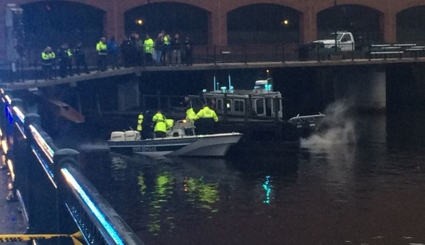 Search teams recover the body believed to be Zachary Marr from the Charles River