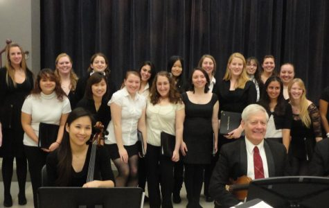 Clubs on Campus: sing with the Simmons College Concert Choir