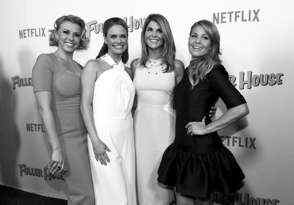 The female members of the 'Full House' cast, all grown up