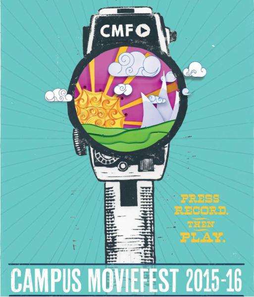 Campus MovieFest, watch logo