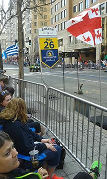 Fans+awaited+athletes+at+mile+26+on+Boylston+Street+near+Copley+Square.++Photo%3A+Siobhan+Kenneally+