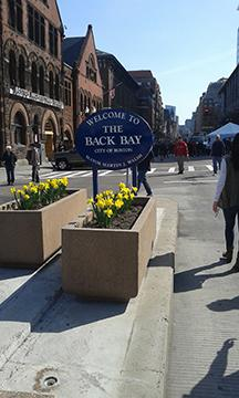 Security+personnel+lined+the+course+of+the+Boston+Marathon+and+inspected+the+bags+of+all+spectators.+Photo%3A+Siobhan+Kenneally+