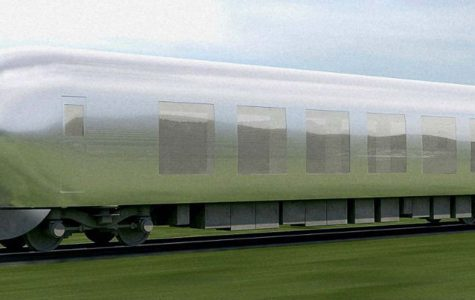 Japan designing 'invisible train' for use in near future