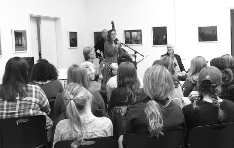 Sol y Canto performs at Trustman Art Gallery