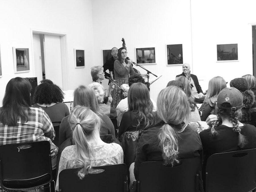 Sol y Canto performs at Trustman Art Gallery