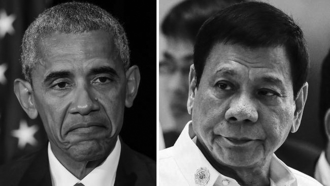 Phillippines President insults President Obama before a meeting