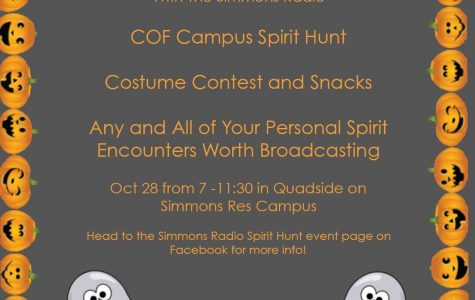 Simmons College Radio gears up for Spirit Hunt